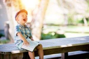 Let your joy lead to laughter