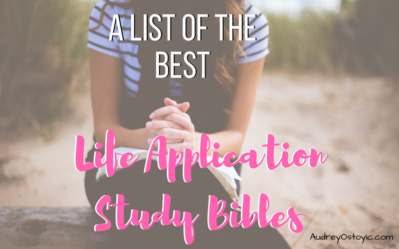 best life application study bible