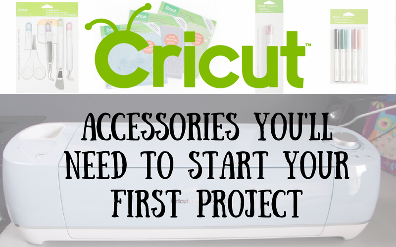 Cricut Accessories you need to begin your first project
