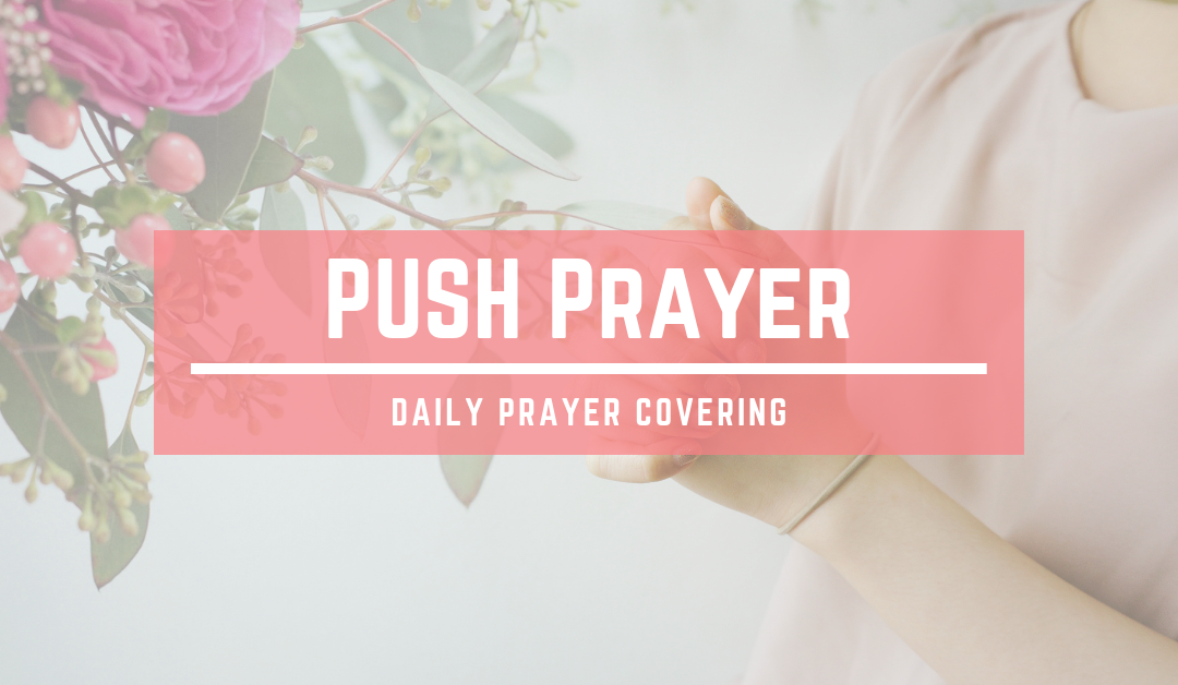 PUSH Prayer – Daily Prayer Covering