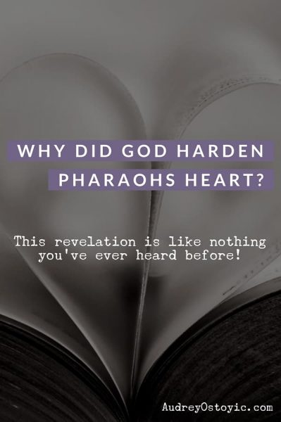 Pharaohs hardened heart and God's so that moment